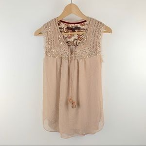 [A Common Thread] Anthropologie Sequin Top